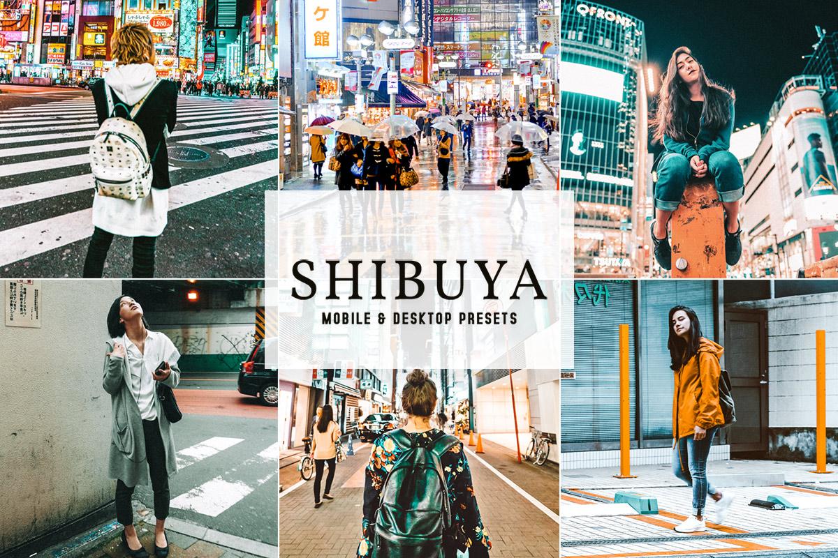 Shibuya Lightroom Presets