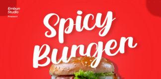 Spicy Burger Script Font