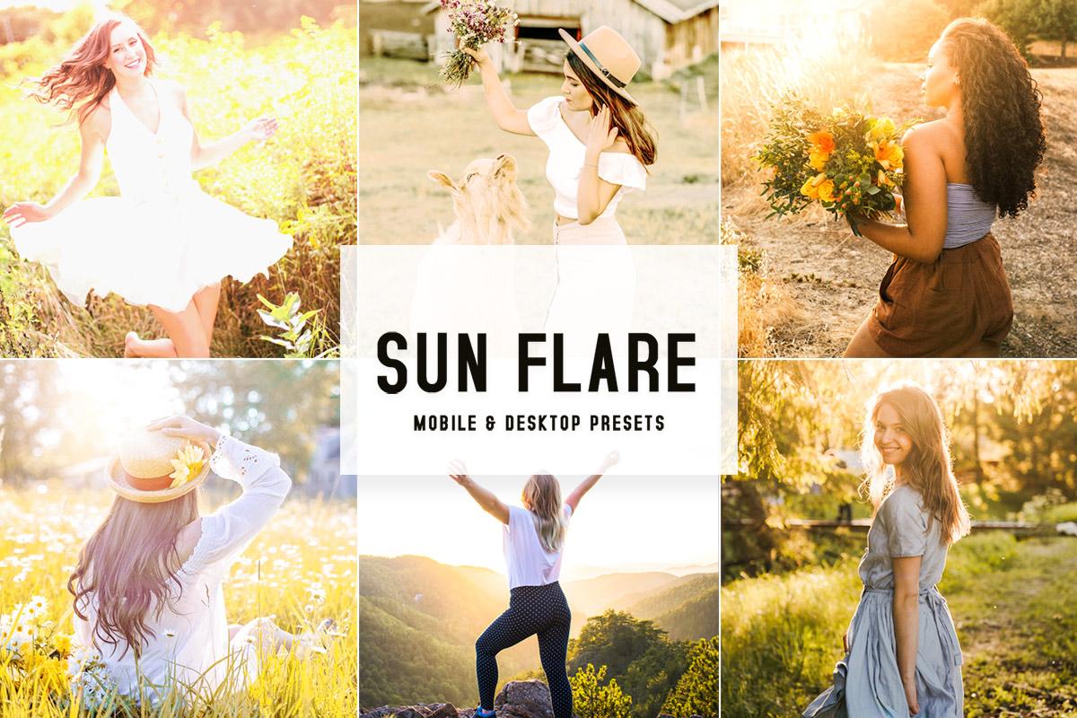 Sun Flare Lightroom Presets V2