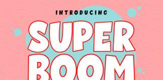 Super Boom Display Font