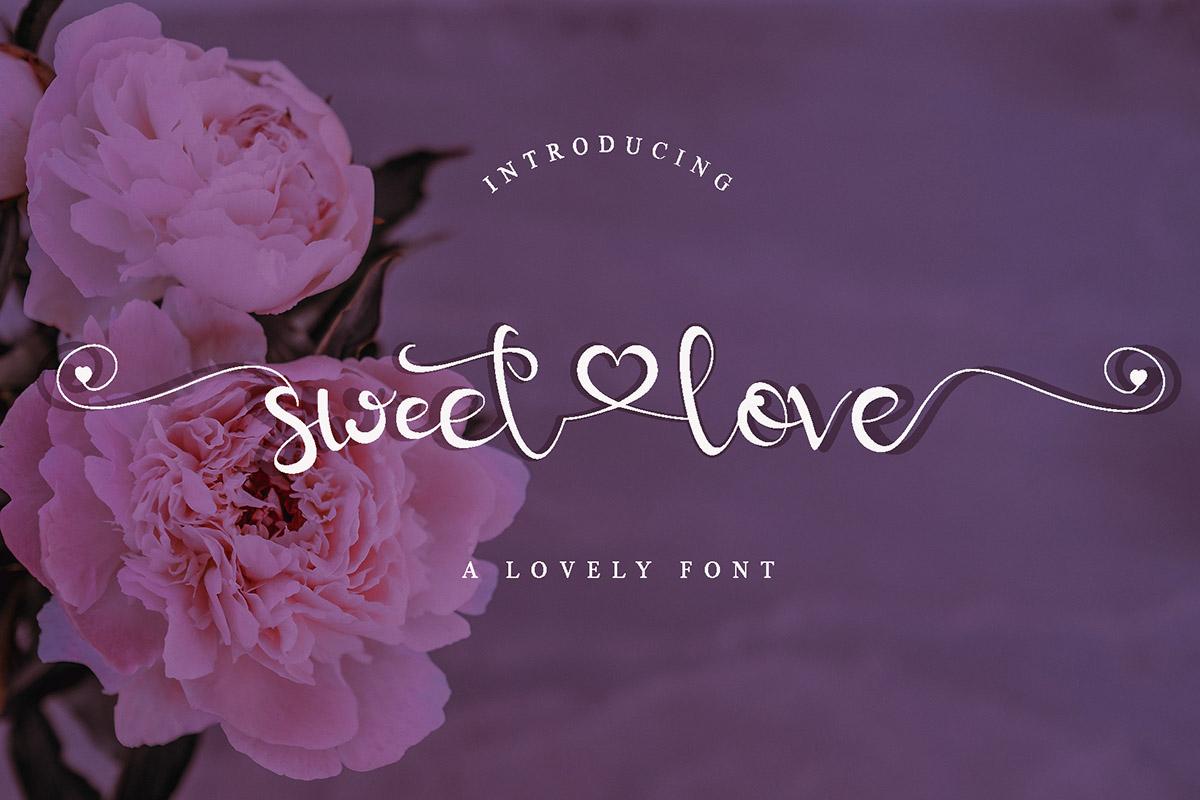 Sweet Love Handwritten Font