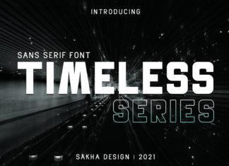 Timeless Series Sans Serif Font