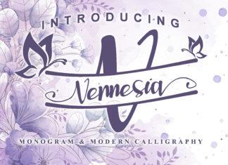 Vennesia Calligraphy Font