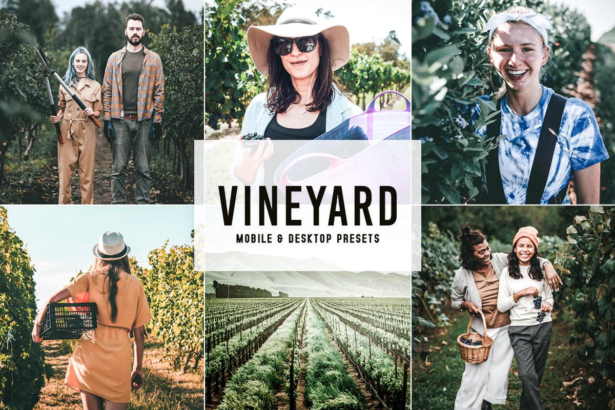 Vineyard Lightroom Presets