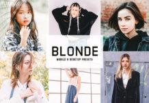 Blonde Lightroom Presets
