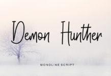 Demon Hunther Script Font