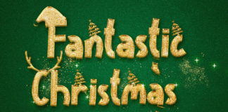 Fantastic Christmas Display Font