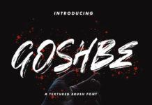 Goshbe Brush Font