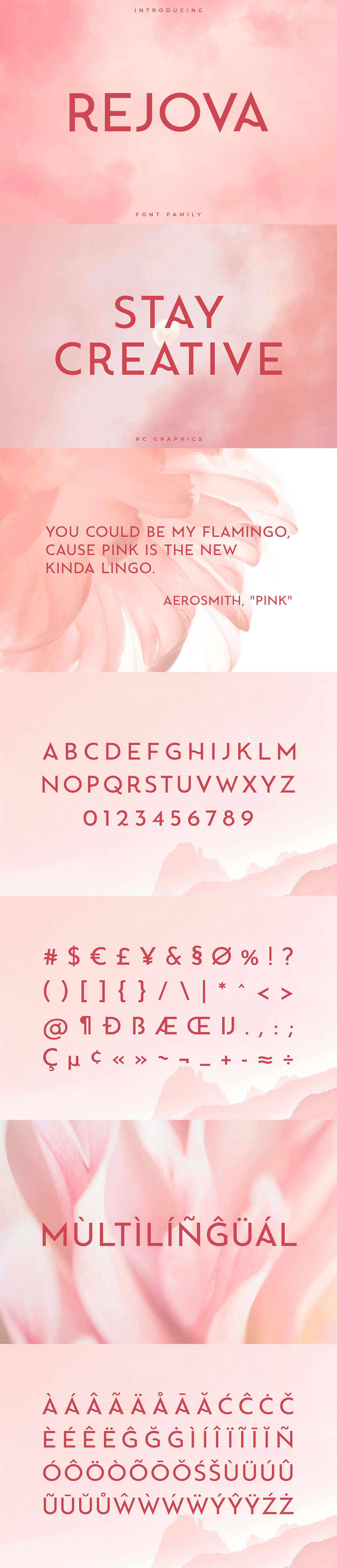Rejova Sans Serif Font