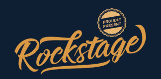 Rockstage Calligraphy Font