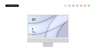 iMac 2021 Mockup