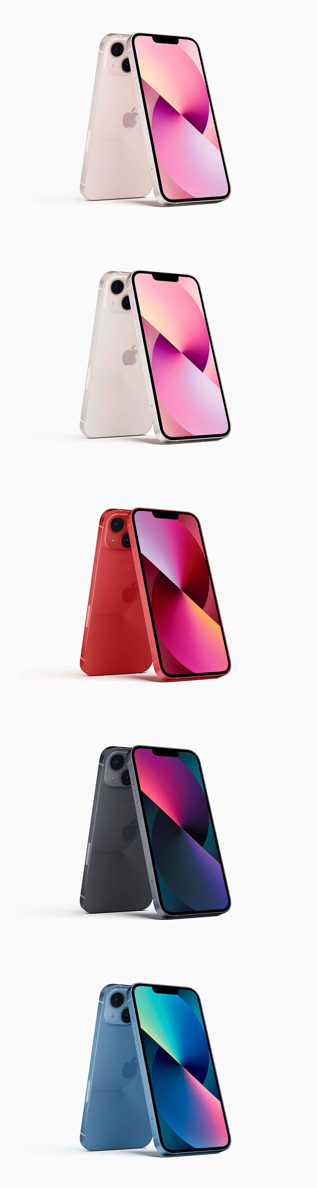 iPhone 13 Mockup PSD